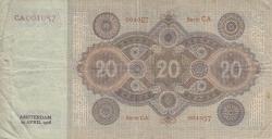 Imaginea #2 a 20 Gulden 1926 (22. IV.)