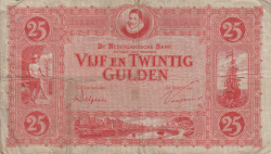 Image #1 of 25 Gulden 1930 (28. VI.)