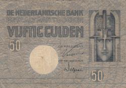 Imaginea #1 a 50 Gulden 1929 (27. IV.)