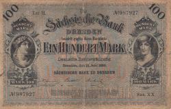 Image #1 of 100 Mark 1890 (15. VI)