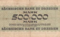 Image #2 of 500 000 Mark 1923 (15. VIII)