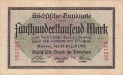 Image #1 of 500 000 Mark 1923 (15. VIII)