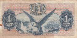 Imaginea #2 a 1 Peso Oro 1970 (1. V.)