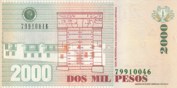 Image #2 of 2000 Pesos 2006 (10. XI.)