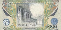 Image #2 of 5000 Pesos 1995 (1. III.)