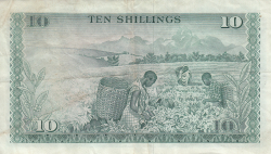Image #2 of 10 Shillings 1971 (1. VII.)