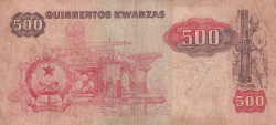 Imaginea #2 a 500 Kwanzas 1984 (7. I.)