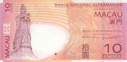 10 Patacas 2013 (11. XI.)