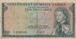 10 Shillings L.1949 (1963)