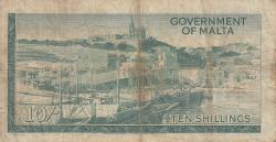 Imaginea #2 a 10 Shillings L.1949 (1963)