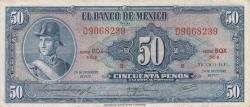 Image #1 of 50 Pesos 1972 (29. XII.) - Serie BQX