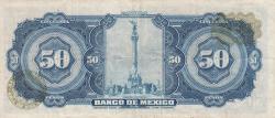 Image #2 of 50 Pesos 1972 (29. XII.) - Serie BQX