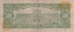 Image #2 of 500 Pesos 1978 (18. I.) - Serie CCL