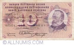 Image #1 of 10 Franken 1958 (18. XII.)