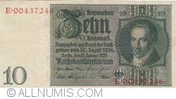 Image #1 of 10 Reichsmark 1929 (22. I.) (1945)