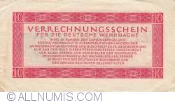Image #2 of 10 Reichsmark 1944 (15. IX.)