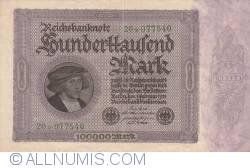Image #1 of 100 000 Mark 1923 (1. II.) - 3