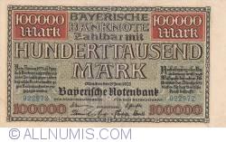 100 000 Mark 1923 (15. VI.)