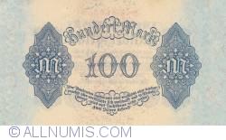 Image #2 of 100 Mark 1922 (4. VIII.)