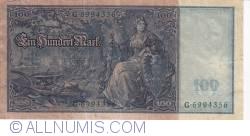 Image #2 of 100 Mark 1910 (21. IV)