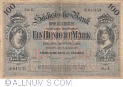Image #1 of 100 Mark 1911 (2. I.) - Ser. I.