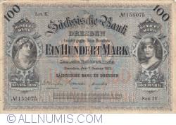 Image #1 of 100 Mark 1911 (2. I.) - Ser. IV.