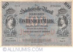 Image #1 of 100 Mark 1911 (2. I.) - Ser. V. (1)