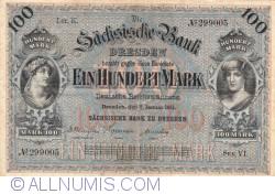 Image #1 of 100 Mark 1911 (2. I.) - Ser. VI.