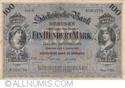 Image #1 of 100 Mark 1911 (2. I.) - Ser. VIII.