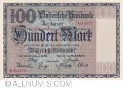Image #1 of 100 Mark 1922 (1. I.)