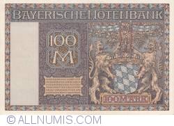 Image #2 of 100 Mark 1922 (1. I.)