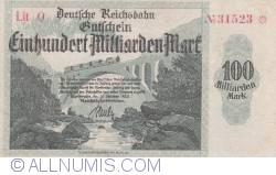 Image #1 of 100 Milliarden (100 000 000 000) Mark 1923 (15. X.)