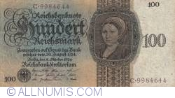 Image #1 of 100 Reichsmark 1924 (11. X.)