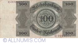 Image #2 of 100 Reichsmark 1924 (11. X.)