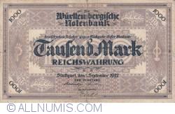 Image #1 of 1000 Mark 1922 (1. IX.)