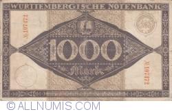 Image #2 of 1000 Mark 1922 (1. IX.)