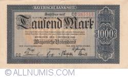 Image #1 of 1000 Mark 1922 (1. X.)