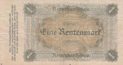 Imaginea #2 a 1 Rentenmark 1923 (1. XI.)
