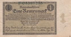 1 Rentenmark 1923 (1. XI.)