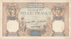 Image #1 of 1000 Francs 1932 (28. VII.)