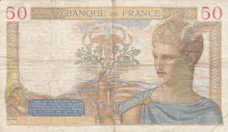 Image #2 of 50 Francs 1936 (19. XI.)