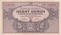 Image #1 of 10 Korun 1927 (2. I.) - SPECIMEN