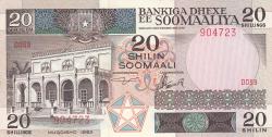 Image #1 of 20 Shilin = 20 Shillings 1983