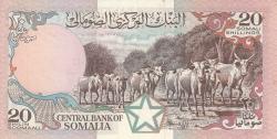 Image #2 of 20 Shilin = 20 Shillings 1983