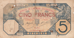 Image #1 of 5 Francs 1922 (14. XII.)