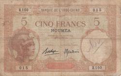 Imaginea #1 a 5 Franci ND (cca. 1926)
