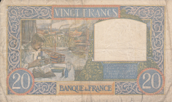 Image #2 of 20 Francs 1941 (8. V.)