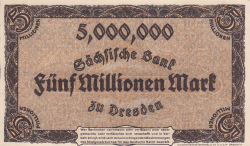 Image #2 of 5 Millionen (5 000 000) Mark 1923 (12. VIII.)