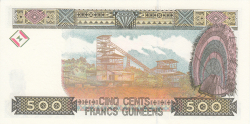 Image #2 of 500 Francs 1998