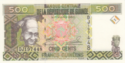 Image #1 of 500 Francs 1998